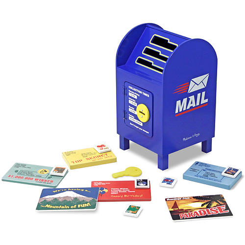 0436: Melissa & Doug Stamp and Sort Mailbox
