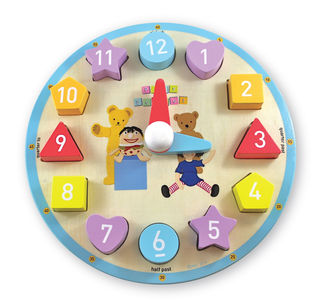 0349: Play School Clock Shape Sorter