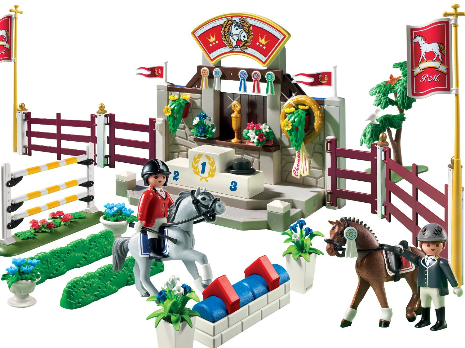 0601: Playmobil Country Horse Show 5224