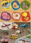 P031: Vehicle & Animal Pin Puzzles