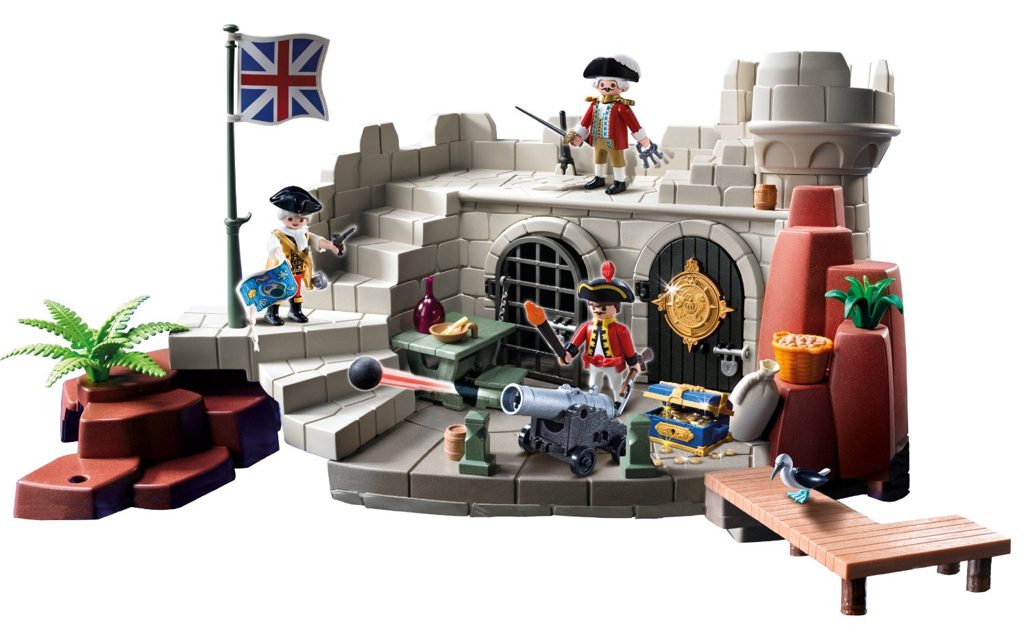 0605: Playmobil Soldiers Fort with Dungeon 5139