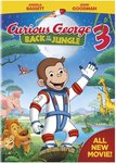 D0056: Curious George Back to the Jungle 3 DVD