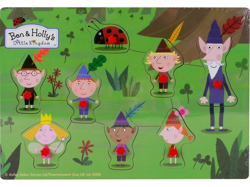 P041: Ben & Holly's Little Kingdom Pin Puzzles