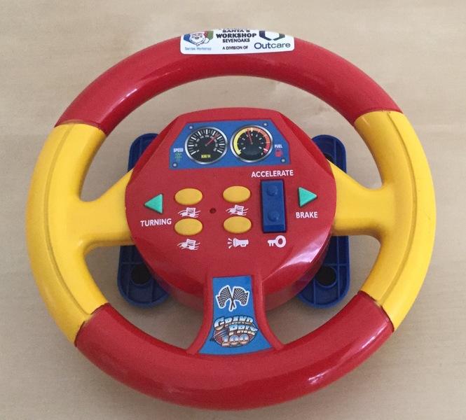 0089: Steering Wheel