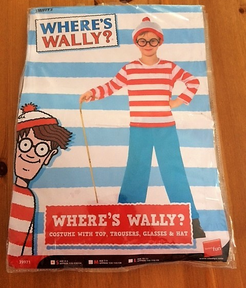 0552: Wheres Wally Costume age 4 to 6