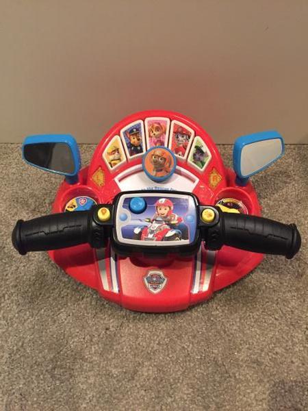 0560: Paw Patrol Car Controls