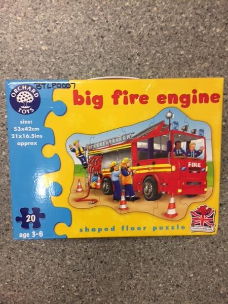 P0007: Big Fire truck floor puzzle