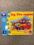 P0007: Big Fire truck floor puzzle