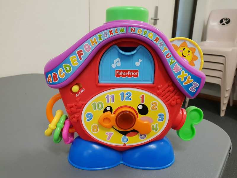 0595: Fisher Price Musical Clock
