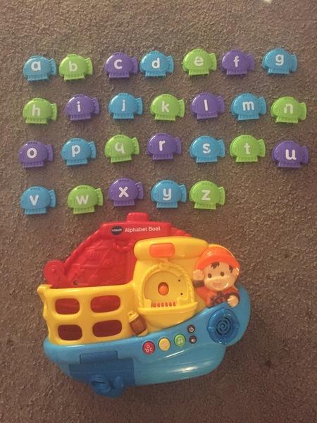 0543: Alphabet Boat