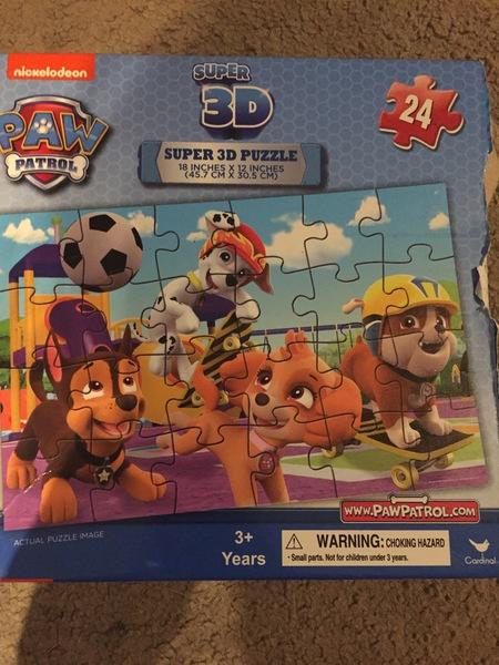 P0053: Paw patrol 3D puzzle