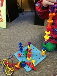 Q12: Geo pegs and peg board