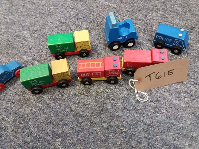 T615: Wooden vehicles