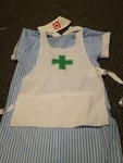 D3193: Nurse Dress with small hat