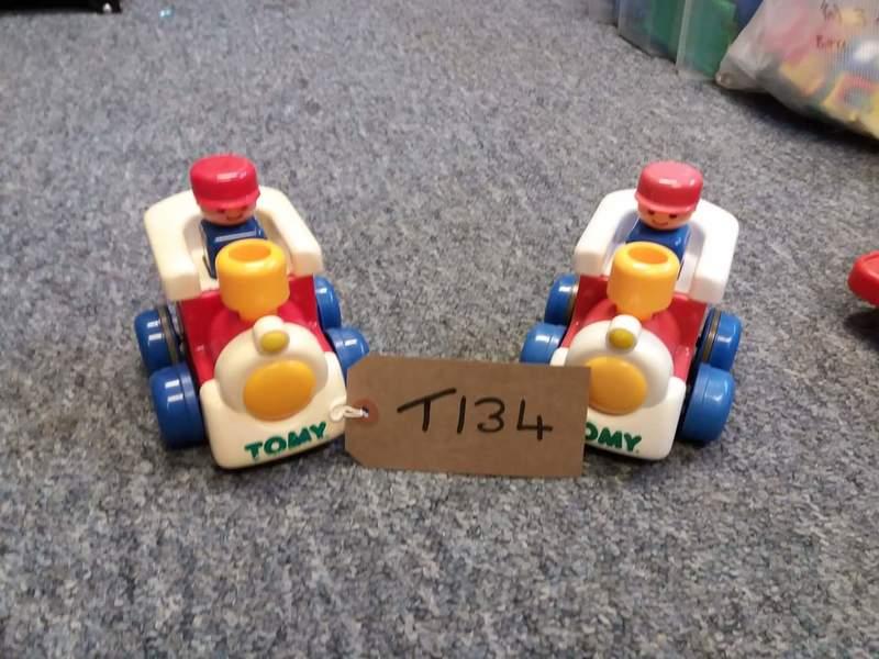 T134: TOMY PUSH 'N' GO TRAIN