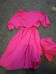 T563: pink skirt and top dress up