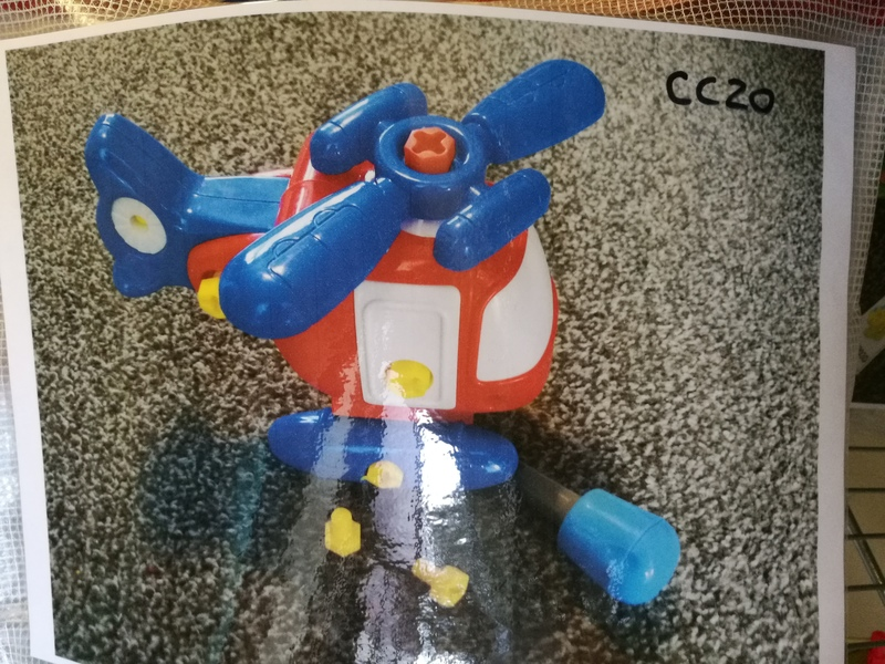 CC20: Deconstruct Helicopter toy