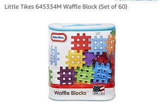AG07: 60 piece Waffle Block building set