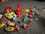 mi8: playmobil people, children and lots of extras