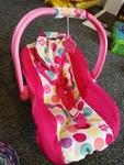 mi20: baby car seat carrier