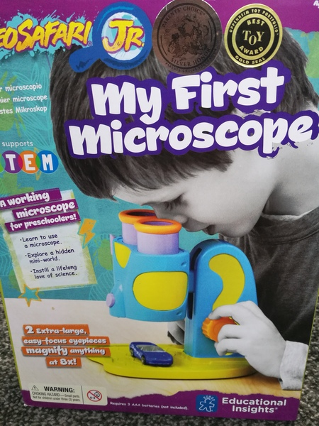 Le9: my first microscope