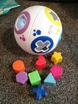 ba17: ball shape sorter