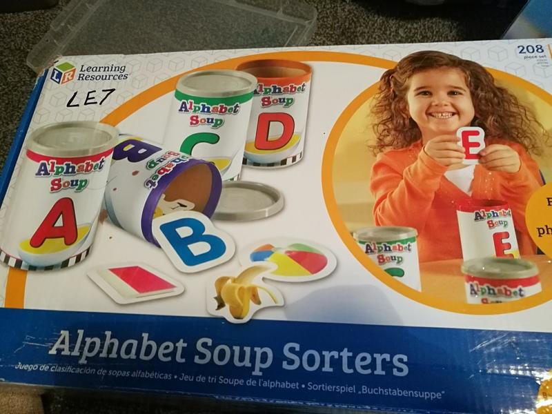 Le7: alphabet soup sorters