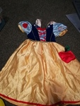 d5: snow white dress, 3-4 years