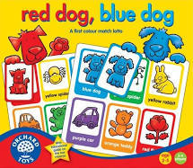647: Red dog, blue dog