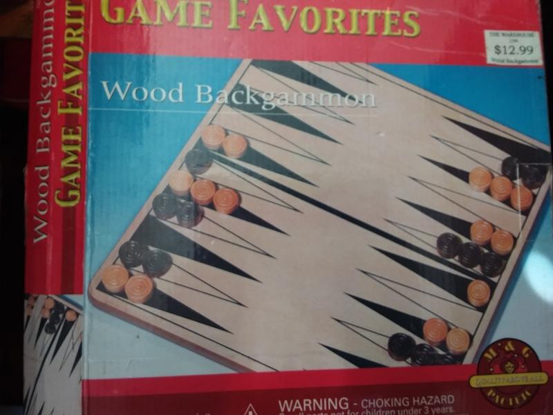 597: Backgammon