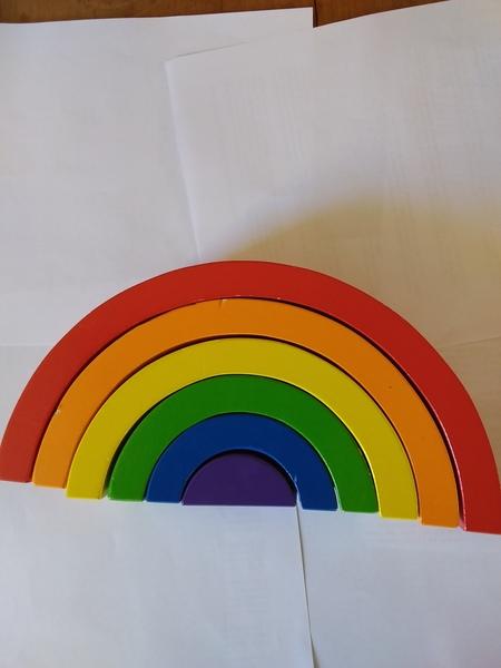 668: Rainbow Stacker