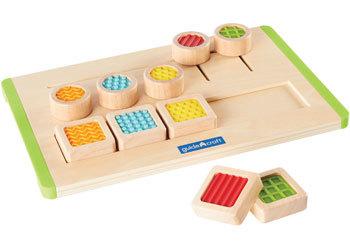 676: Tactile Matching Maze