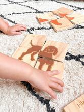 767: Bilingual animal puzzle