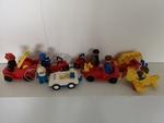 806: Duplo assorted vehicles/figures