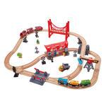 406: Busy city rail set