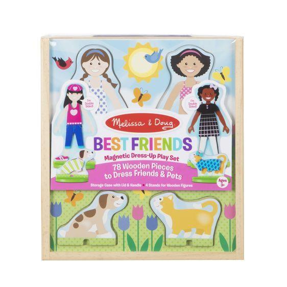 437: Best friends magnetic dress up