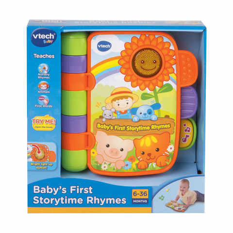 450: Baby's first storytime rhymes