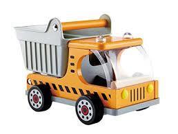 468: Wooden dump truck