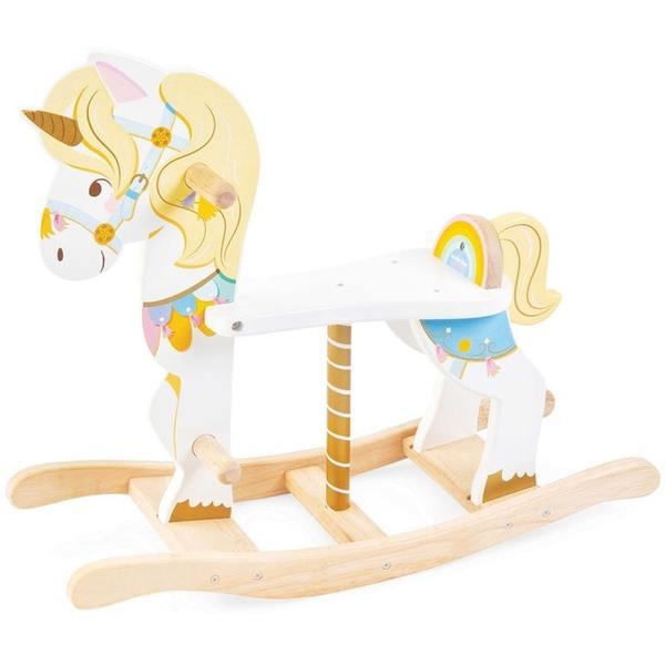 501: Rocking unicorn carousel