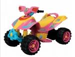 547: Ride on 6v quad - pink