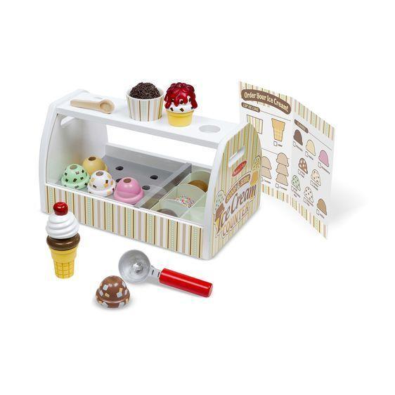 573: Ice cream scoop & serve counter