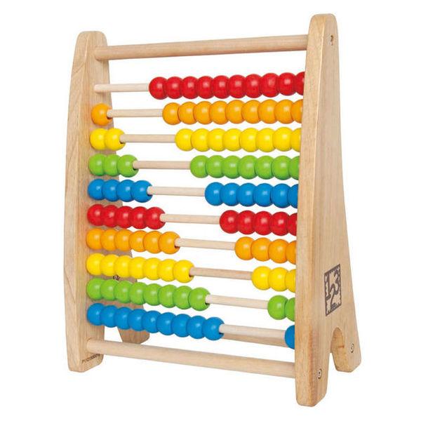 41: Rainbow bead abacus