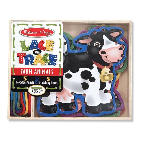 605: Lace & Trace farm animals