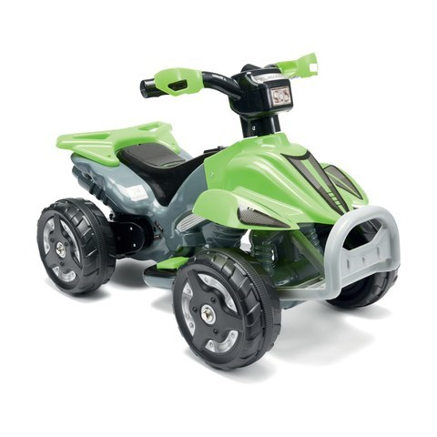 328: Quad green battery powered.
