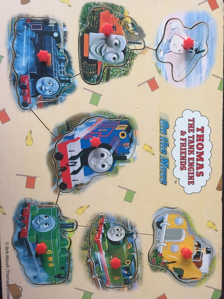 621: Thomas on the move puzzle