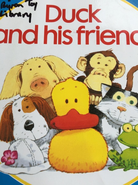 450: First jigsaw. Duck & his friends