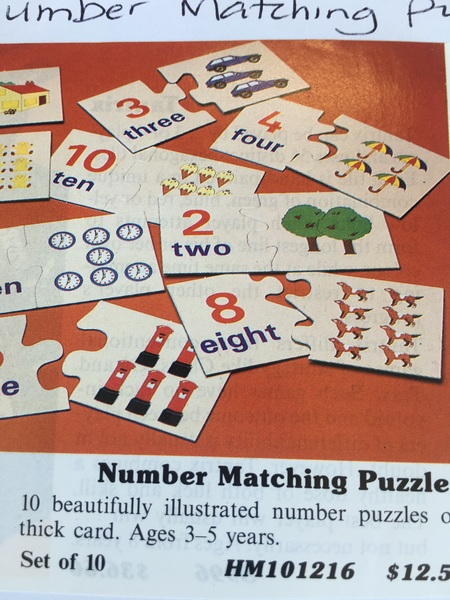 392: Number Matching Puzzles