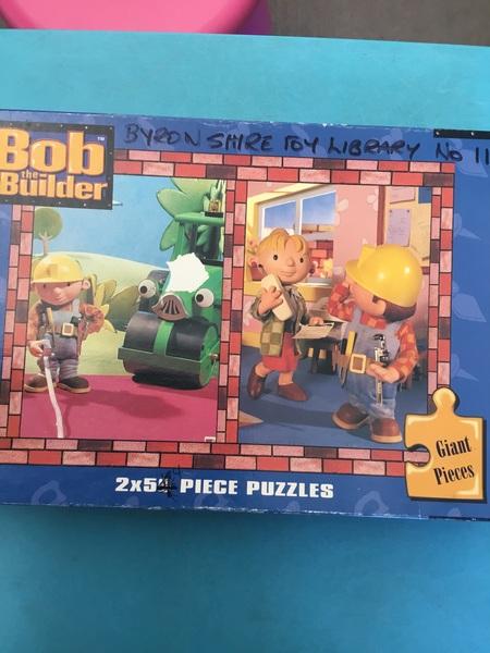 011: Bob the Builder puzzles x2