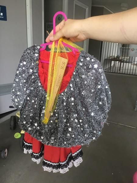 103: Spanish costume