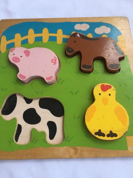 201: Farm Animal puzzle